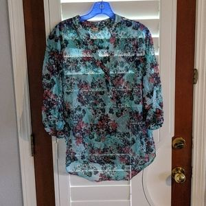 Kut from the cloth floral blouse